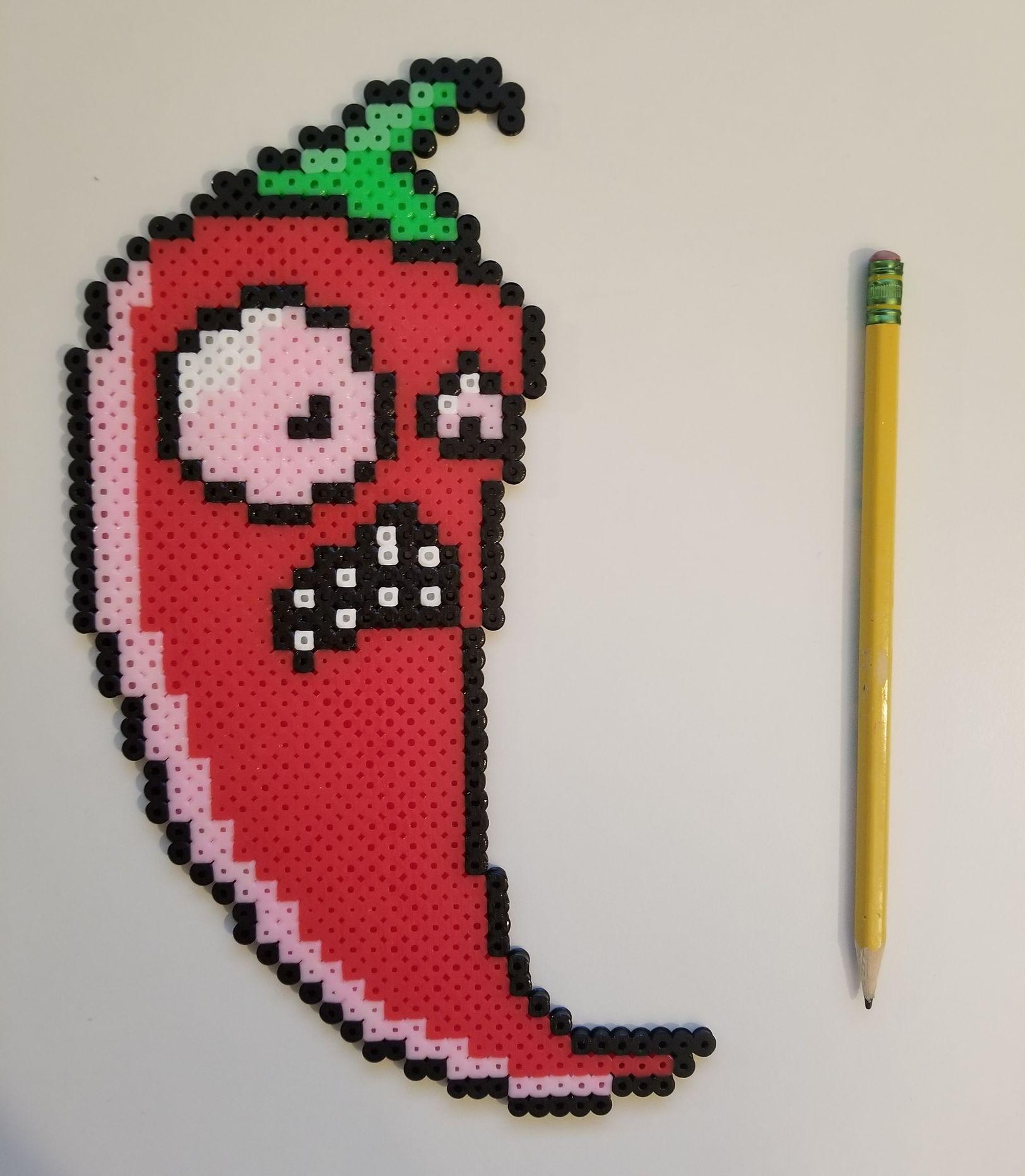 Pixel Art And Perler Bead Sprites