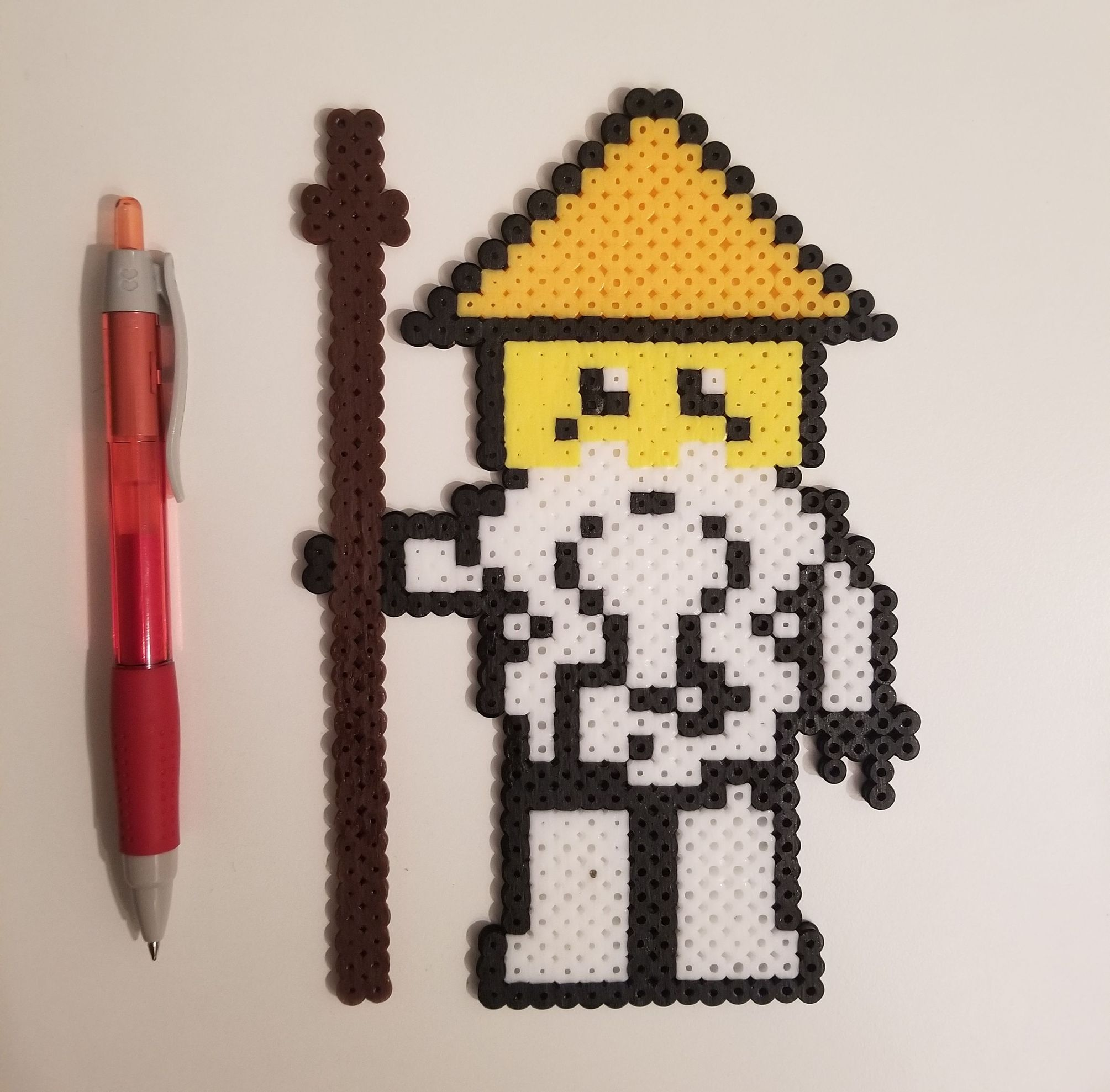 The Lego Ninjago Movie Master Wu Pixel Art And Perler
